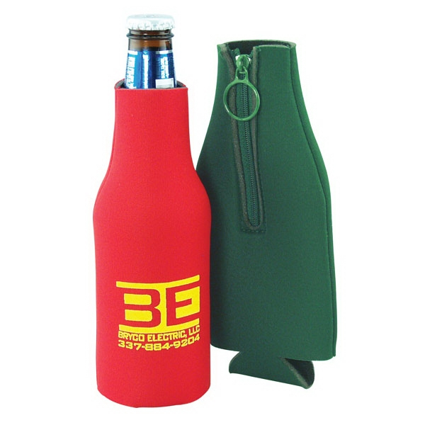 Scuba Bottle Holder Insulator With Zipper, Open Cell Foam Photo