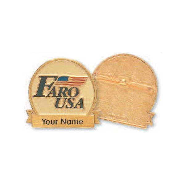 Classic - Custom Shape Name Badge Photo