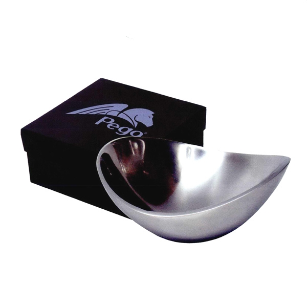 Bret Roberts (tm) - Aluminum Bowl With Soft And Sleek Curves Photo