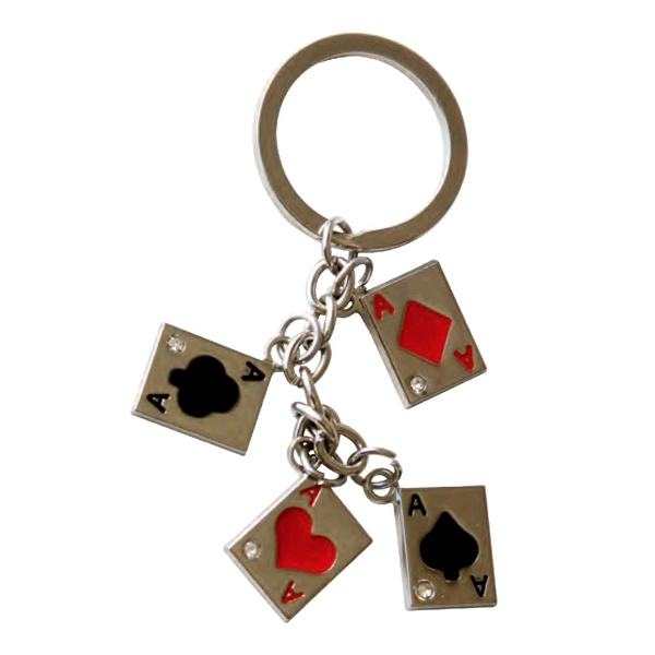Four Aces Keychain Photo