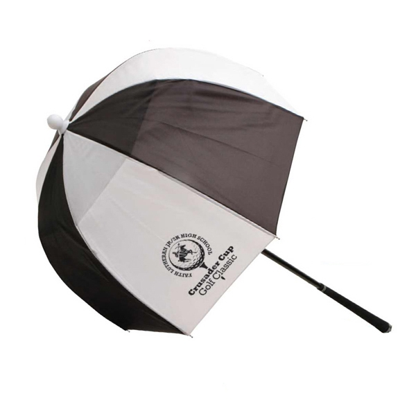 Rainworthy (r) - Golf Bag Umbrella With Rubberized Handle Photo