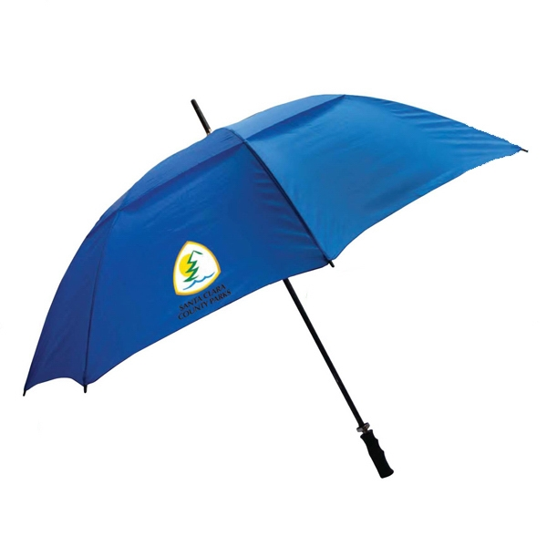 "Rainworthy (r) - Fiberglass Shaft Vented Umbrella With 60"" Arc Photo"