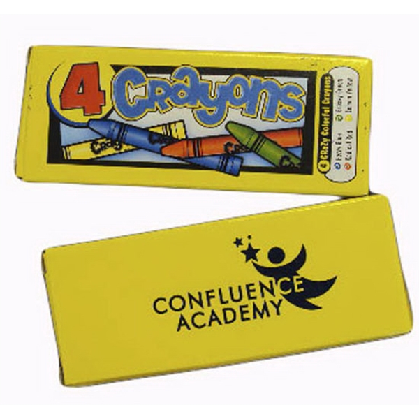 Four Pack Premium Crayons Photo