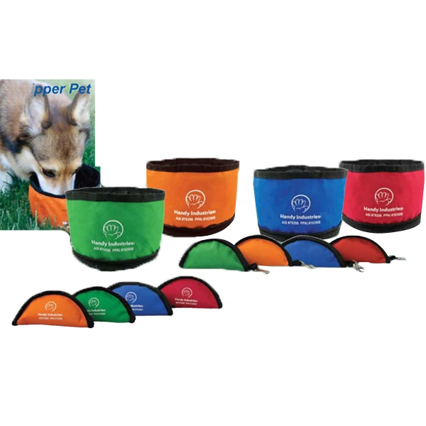 Zipper Pet Bowl Photo