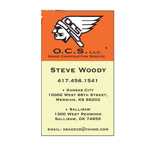 Business Card Rectangular Magnet With Square Corners, 0.025 Thickness Photo