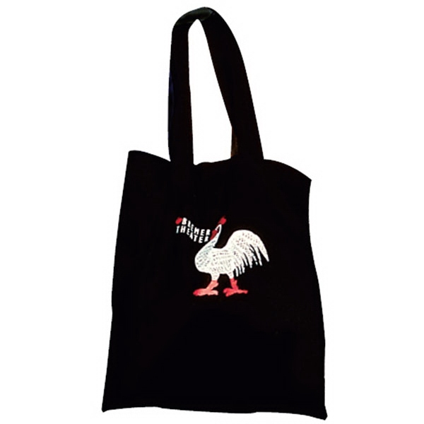 Black Long Handle Tote Bag Photo