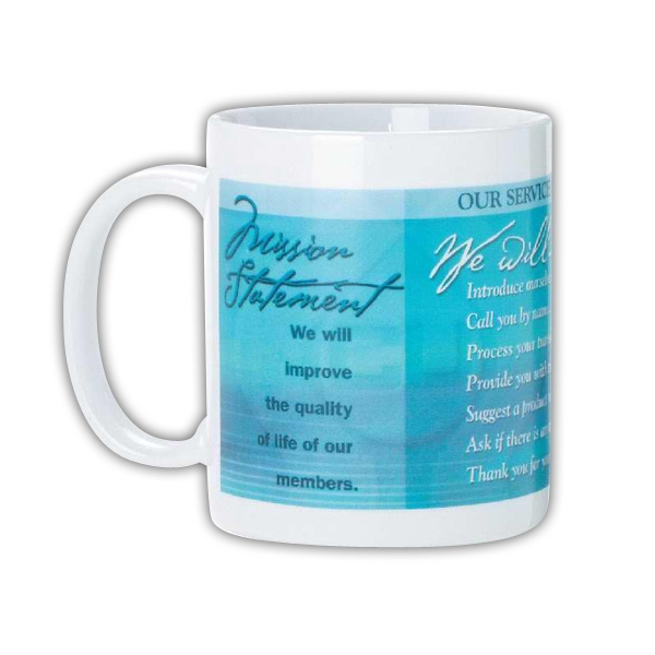 Anchor - Eleven Ounce White Ceramic Anchor Mug Photo