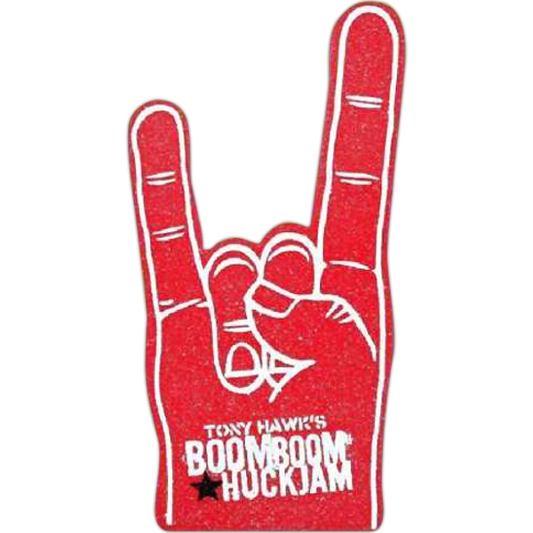 "17"" - Foam Cheering Hand/mitt Photo"
