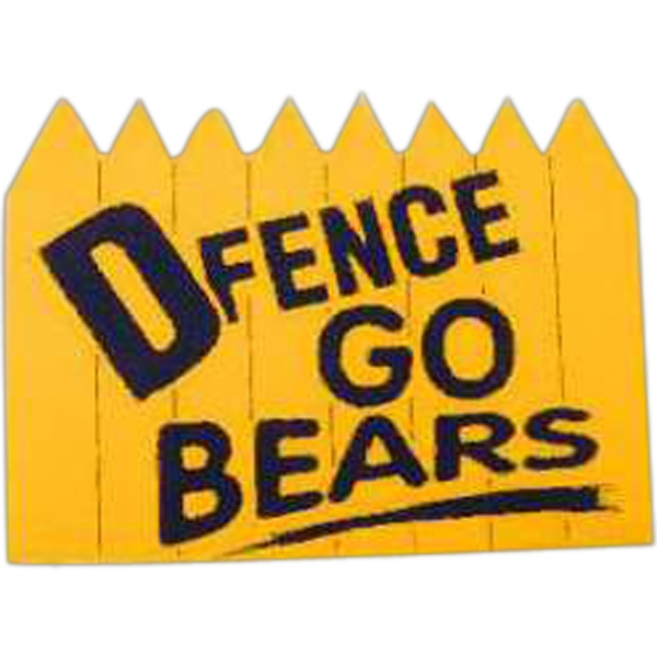 "Foam Cheering Mitt With D-fence Design. 9"" X 12.5"" Photo"