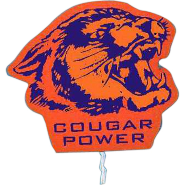 Cougar - Mascot On A Stick. Made From Foam Material Photo
