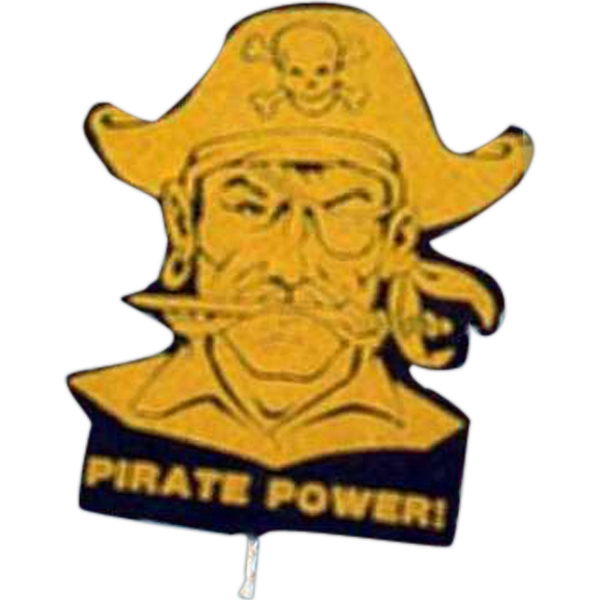Pirate - Mascot On A Stick. Made From Foam Material Photo