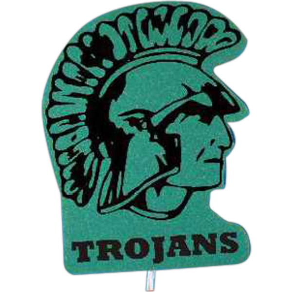 Trojan - Mascot On A Stick. Made From Foam Material Photo
