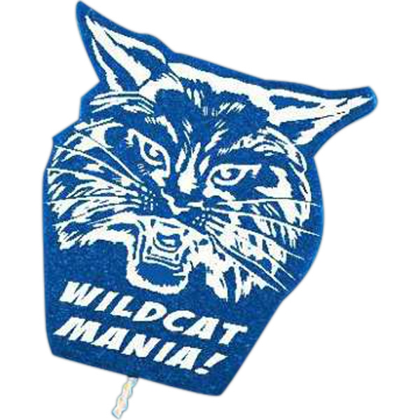 Wildcat - Mascot On A Stick. Made From Foam Material Photo