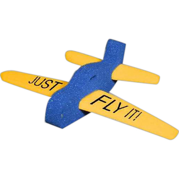 "12"" 3 Piece Foam Airplane Shape Photo"
