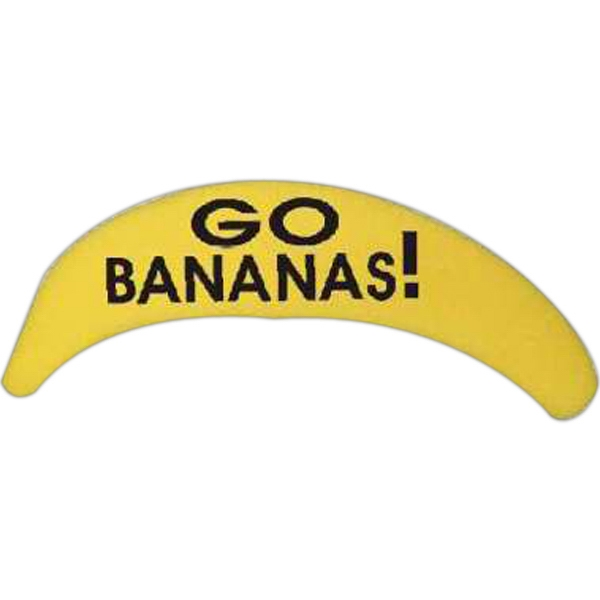10 Inch Foam Banana Shape Photo