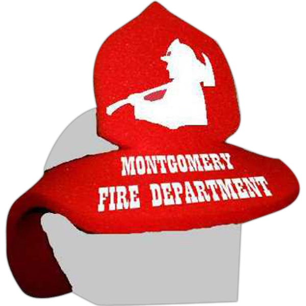 Fireman Helmet - Foam Visor Headwear Photo