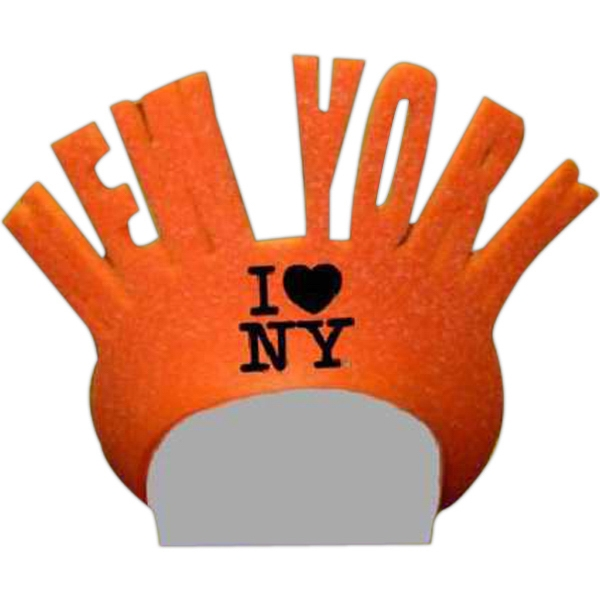 New York - Foam Visor Headwear Photo