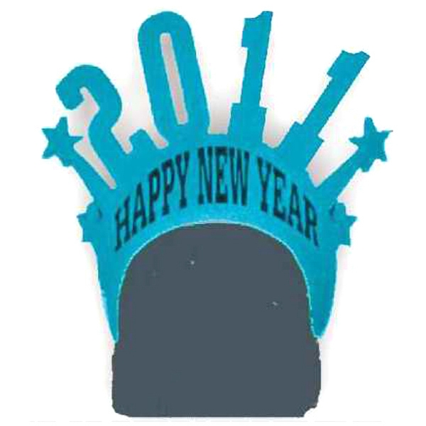 New Year - Updated Each Year. - Foam Visor Headwear Photo