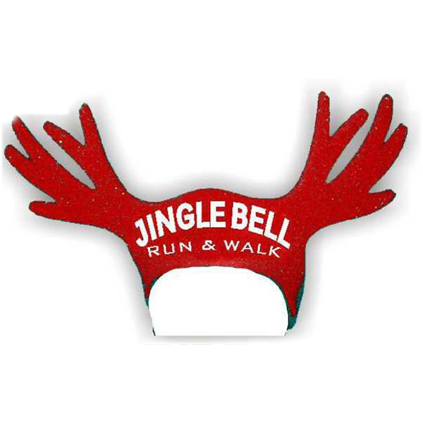 15 Inch Reindeer Antlers Foam Novelty Visor Photo