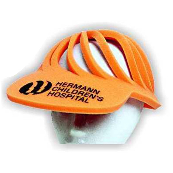 Spiral - Foam Visor Headwear Photo