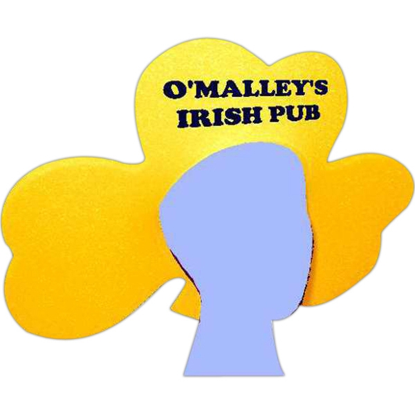 Foam Shamrock Visor Photo