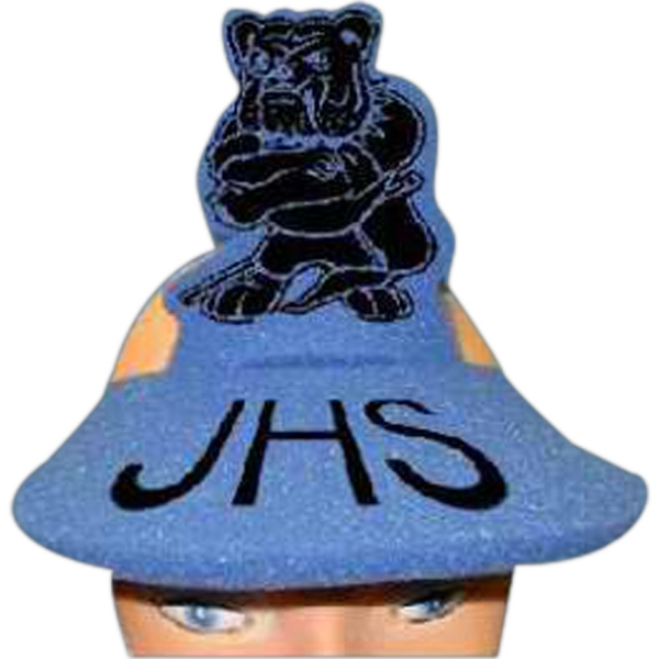 Standing Bulldog Top - Novelty Foam Pop-up Visor Photo
