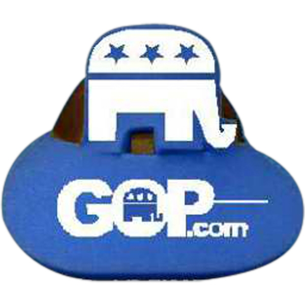 'gop' Elephant Top - Novelty Foam Pop-up Visor Photo