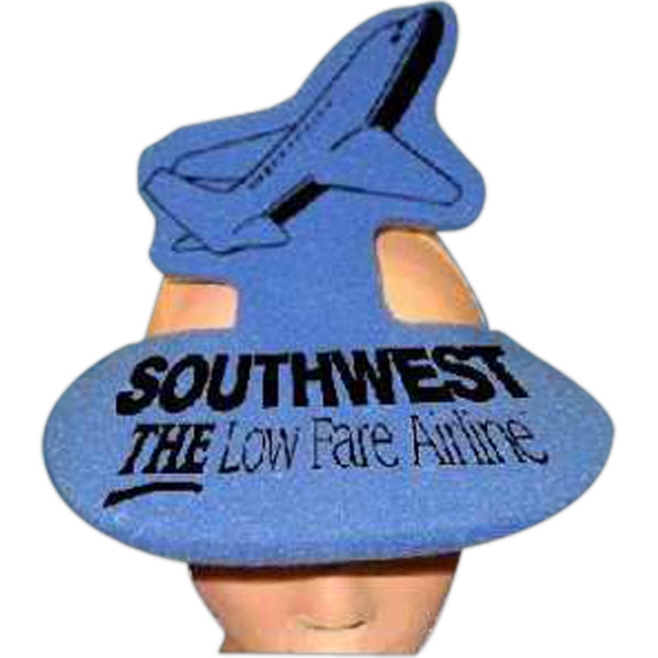 Airplane Top - Novelty Foam Pop-up Visor Photo