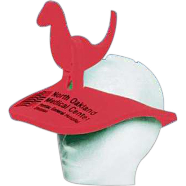 Dinosaur Top - Novelty Foam Pop-up Visor Photo