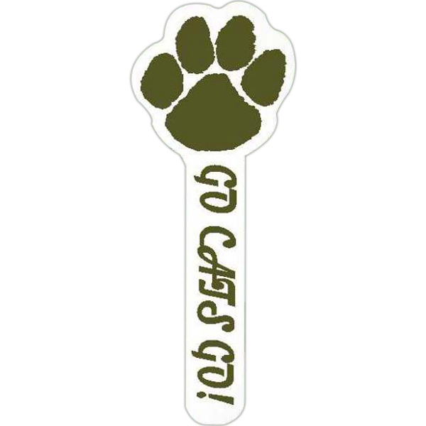 "Spirit (r) - Paw Print - Hand Waver Cheering Accessory. 15"" - 16"" Tall Photo"