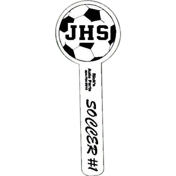"Spirit (r) - Soccer - Hand Waver Cheering Accessory. 15"" - 16"" Tall Photo"