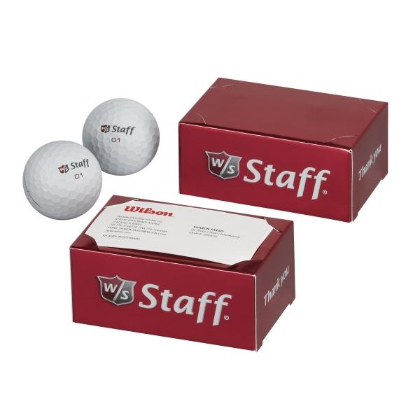 Wilson Staff Duo - 2-ball Thank You Box