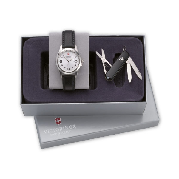 Swiss Army (r) - Set Of Swiss Army Knife And Timepiece Photo