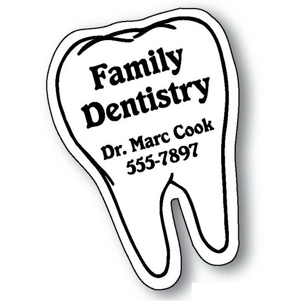 Tooth Stock Shape Magnet