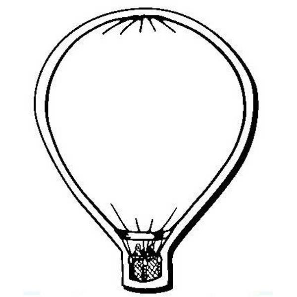 Balloon Stock Shape Magnet