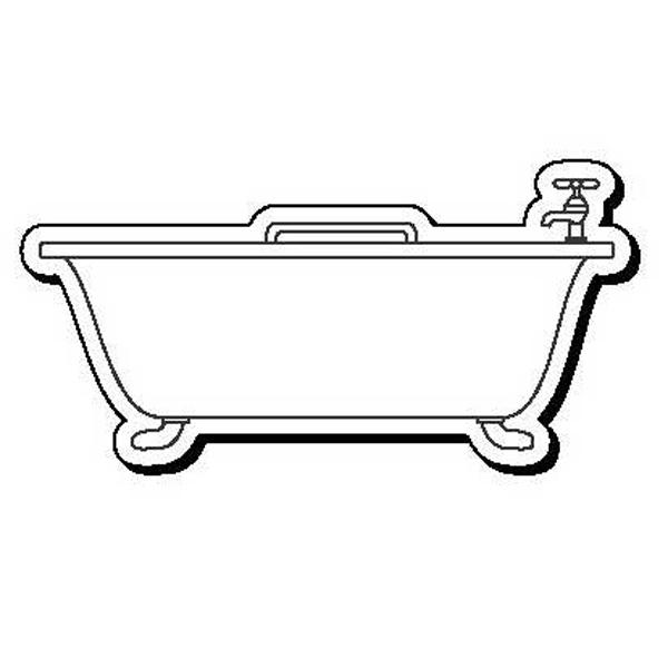 Bathtub Stock Shape Magnet