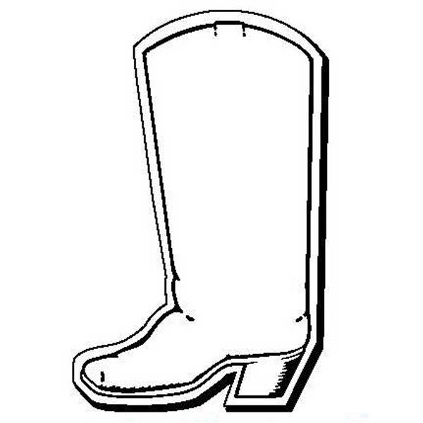 Boot Stock Shape Magnet