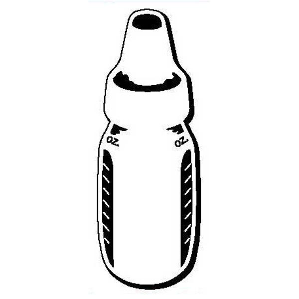 Baby Bottle Stock Shape Magnet