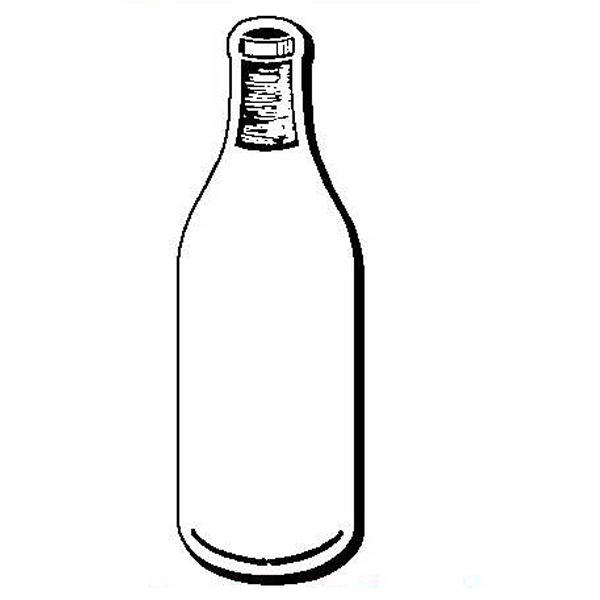 Bottle Stock Shape Magnet