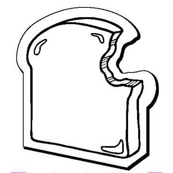 Bread Slice Stock Shape Magnet