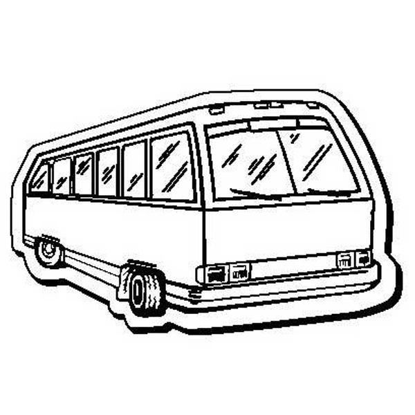 Bus Stock Shape Magnet