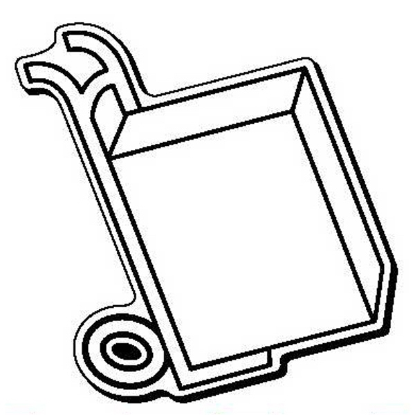 Cart Stock Shape Magnet