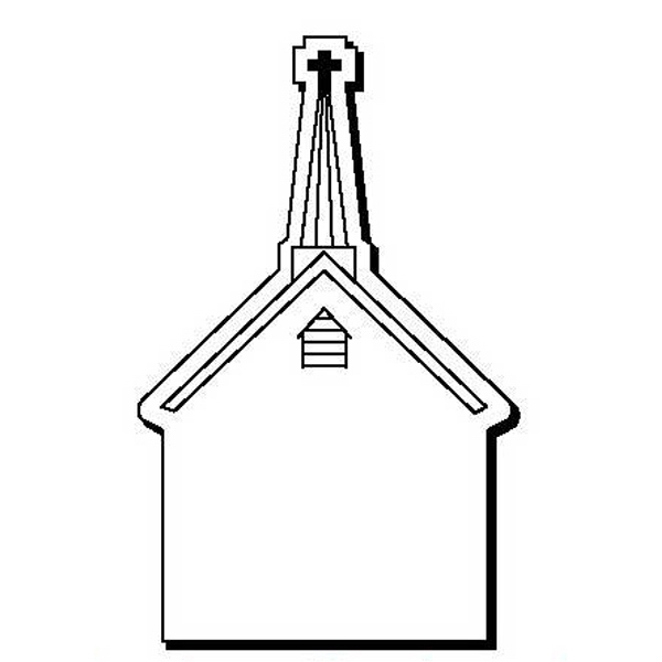 Church Stock Shape Magnet
