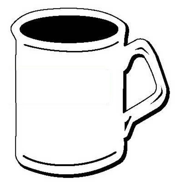 Coffee Mug Stock Shape Magnet