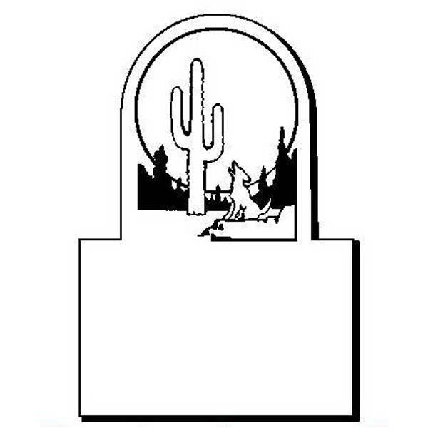 Desert Stock Shape Magnet