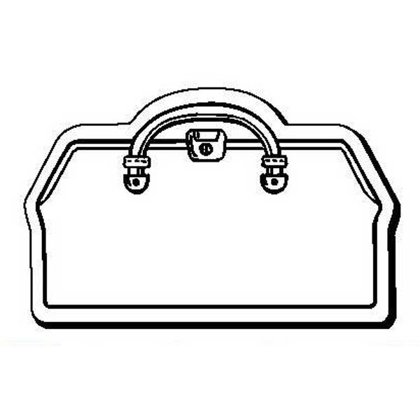 Doctor Bag Stock Shape Magnet