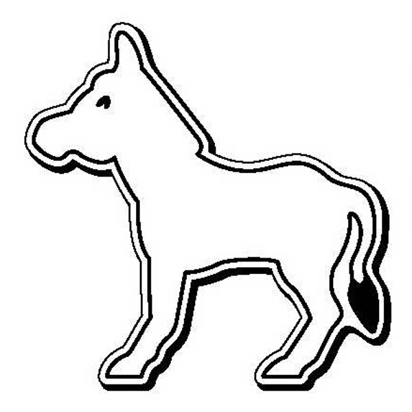Donkey Stock Shape Magnet