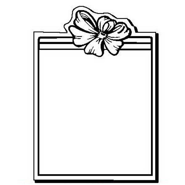 Gift Stock Shape Magnet