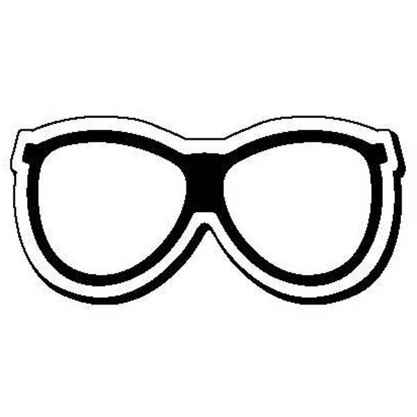Glasses Stock Shape Magnet