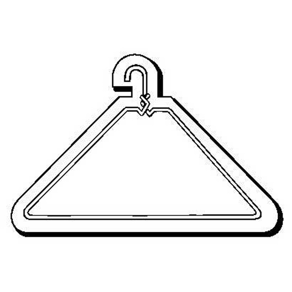 Hanger Stock Shape Magnet
